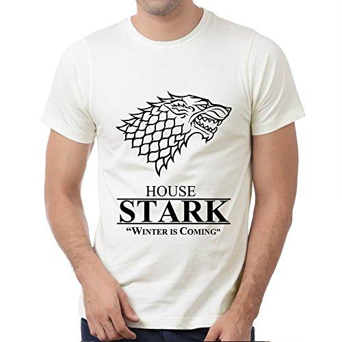 medio per Stark T Gioco House di Thronesty00 Adamimyclay® Sigil Shirt uomo xOqvY6x1