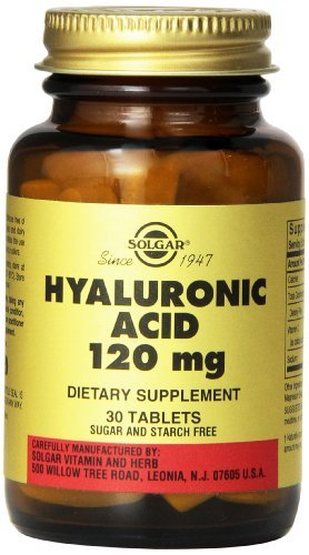 Solgar Hyaluronic Acid Tablets, 120 mg, 30 Count (Pack of 3) by Solgar