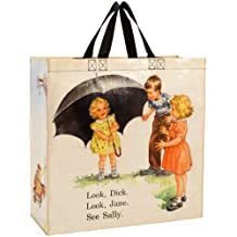 Blue Q Dick and Jane Umbrella Shopper