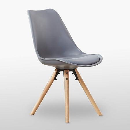 chaises scandinaves gris livraison gratuite