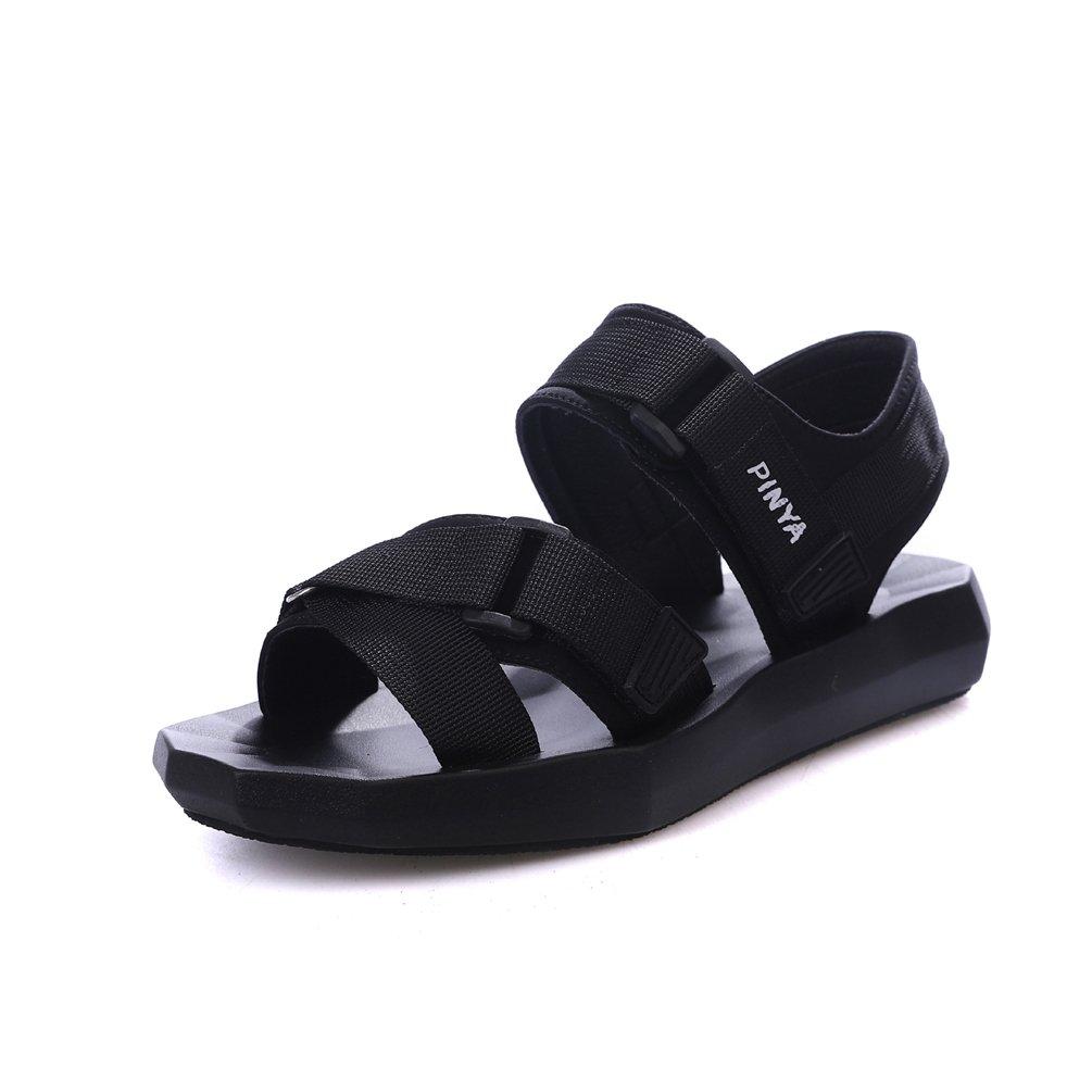 Femme 19340 Sandale Chaussure Loisir Basket à Bout Ouvert à à Plateforme Chaussure Basket Mode avec Velcro Plate Souple 35-42 Noir fb5247a - digitalweb.space