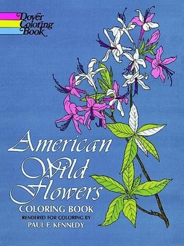 American Wild Flowers Coloring Book (Dover Nature Coloring -