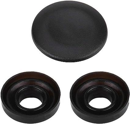 Couleur : Matte black Kit de r/éparation de boutons-MMI Cache bouton central Joystick MMI pour Audi A4 A5 A6 Q5 Q7 S5 S6