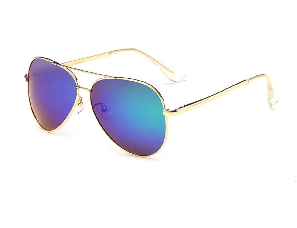 YJMILL ユニセックスアダルト B06XJNM7N5 Gold-blue 60. ミリメートル Gold-blue