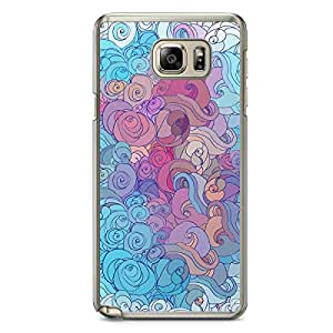Clouds 4 Samsung Note 5 Transparent Edge Case - Clouds Collection