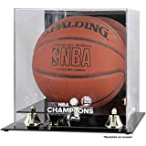 Golden State Warriors 2017 NBA Champions Basketball Display Case