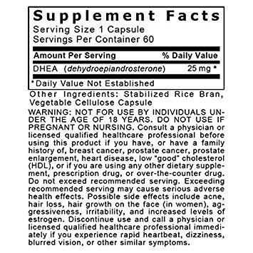 Premier DHEA Anti-aging and Mood Balance Support 240 Vcaps/4 Bottles by Premier Quantum Research Labs