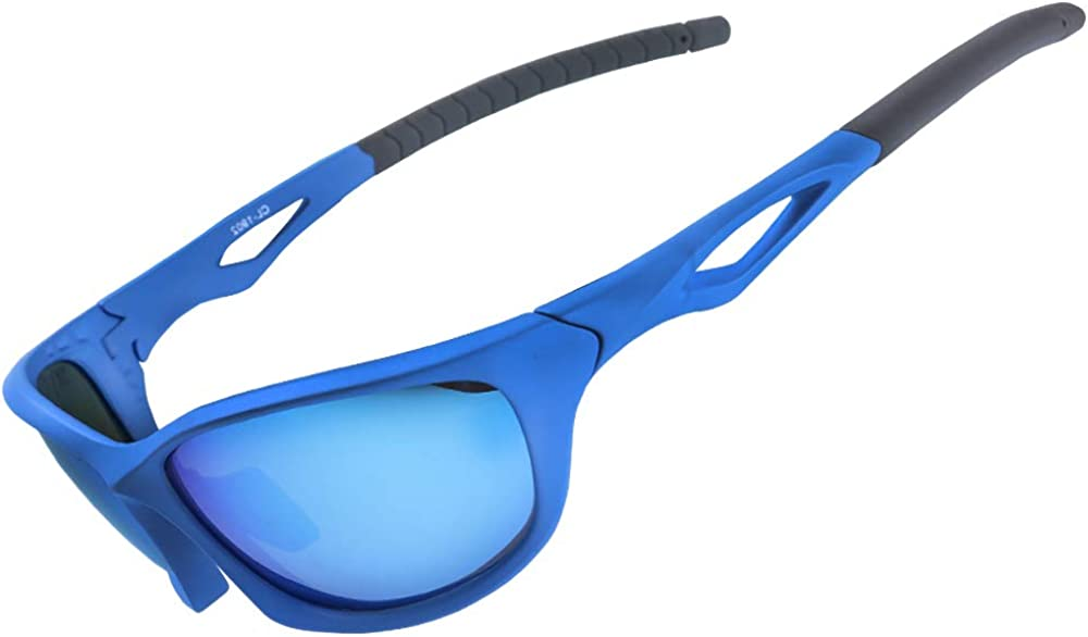 XR Polarized Sport Sunglass for Run Bike Fish 100/% UV Protect TR90 Unbreakable Frame for Adult