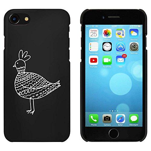Noir 'Poulet à Motifs' étui / housse pour iPhone 7 (MC00058843)