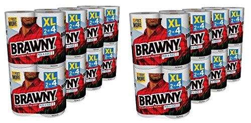 Brawny Pick-a-Size Paper Towels DJVxzO, 2Pack (16 X-Large) by Brawny