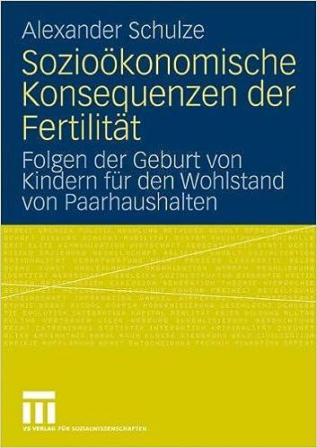 Book Sozioökonomische Konsequenzen der Fertilität