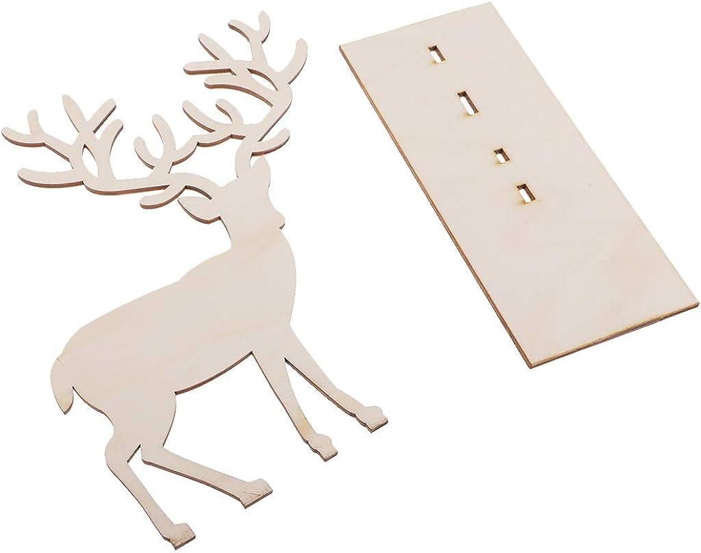 Casecover Cerf Buckhorn Affichage Bijoux Stand Bijoux Boucle doreille Collier Organisateur Rack Porte Affichage Tablette pour La Maison