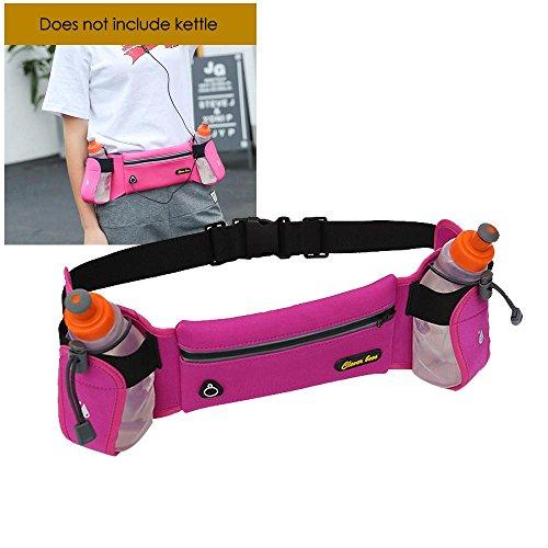 AOLVO extensor de cinturón de hidratación con colorido barato Fanny Pack, al aire última intervensión para mujer Running...