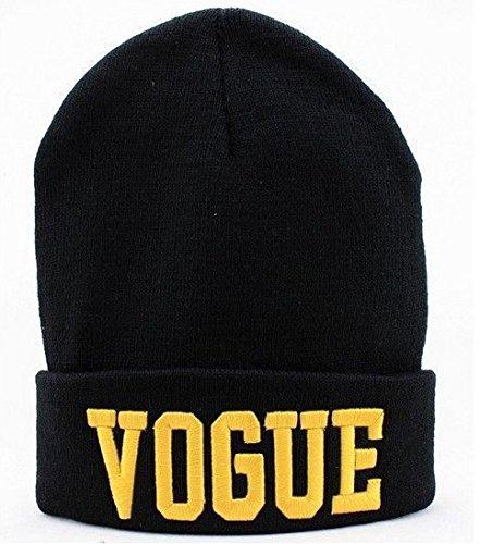 Pyrsun(TM) Hot sale Winter VOGUE Style Fashion Skullies for Men and Women Beanie Winter Hat Fall Hiphop Warm Letter Cap Knitting beanies (Hip Hop Bolt)