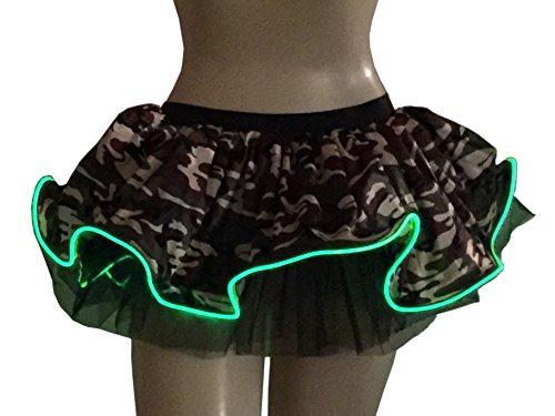 Camouflage Light Up Tutu GlitZGlam product image