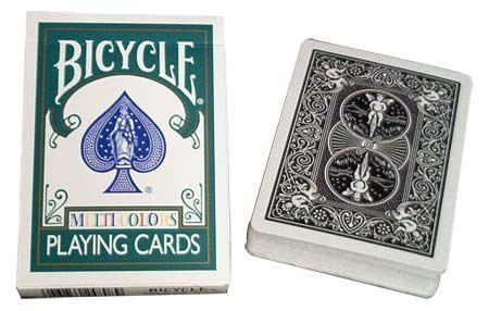 Bicycle Cards Poker Size Multi Colors Limited Edition by United States Playing Card Company by United States Playing Card Company