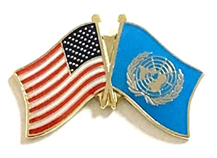 United Nation Cuba Friendship Flag Badge Lapel Pin Pins Apparel Sewing & Fabric Badges