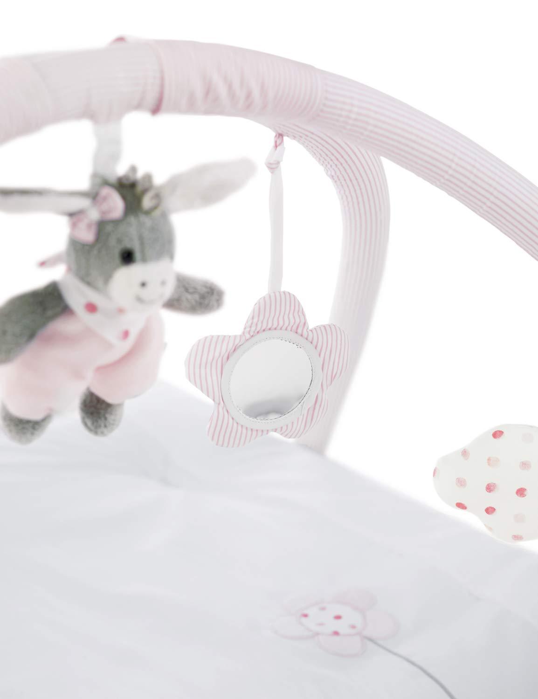 Sterntaler Arco y manta con juegos Chica Emmi Edad: 0-18 meses Rosa 100 x 80 cm