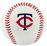 MLB Minnesota Twins Team Logo Baseball, Official, White