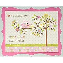 CRG First Year Calendar, Happi Baby Girl