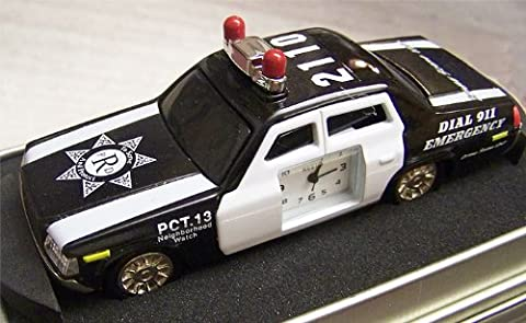 Fossil Relic Police Car Desk Clock Patrol Car Clock (Fossil Limited Edition)