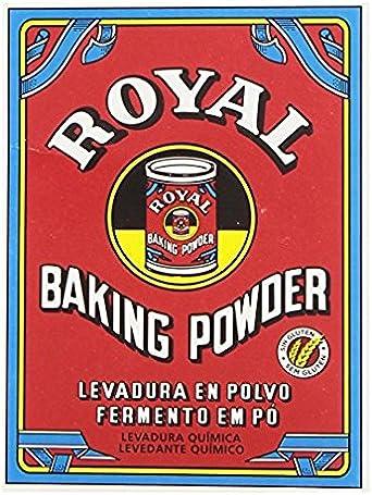 Royal levadura en polvo (peso neto: 64 g=4 x 16 g)  - [pack de 4]: Amazon.es: Alimentación y bebidas