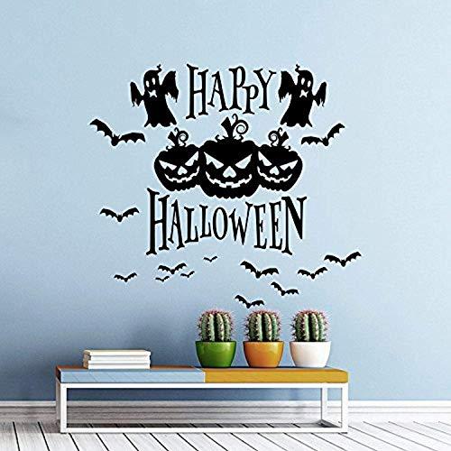 Halloween Pumpkins Skeletons Bats Monsters Horror Spirits Design Attributes Halloween Panic Room Bedroom Home D Wall Decals Mural Decor Vinyl Sticker AL407