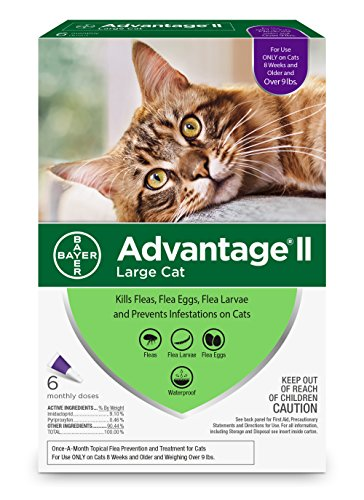 Bayer Advantage II for Large Cats Over 9 lbs
