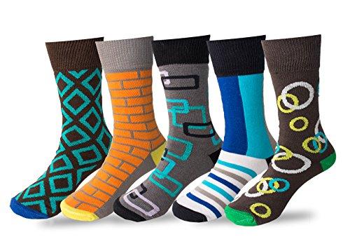 Boys Pack Crew Dress Socks