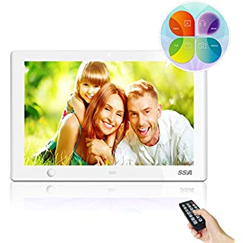 Nix Advance 10 Inch Widescreen Hi Res Digital Photo Hd Video 720p