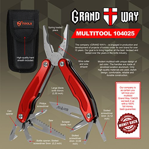 Best-Red-Multi-Tool-13-in-1-with-Knife-and-Pliers-Utility-Tool-with-Large-Knife-and-Saw-Good-for-Camping-Hunting-Survival-Hiking-and-Outdoor-Activities
