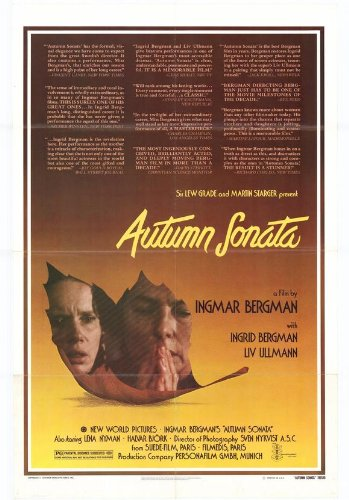 Image result for autumn sonata poster