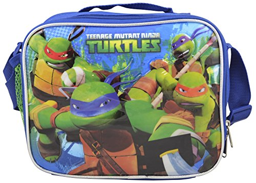 Teenage Mutant Ninja Turtles TMNT Deluxe 3D Insulated Lunchbox