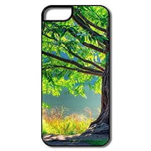 Funny Tree Plastic Case Cover For IPhone 5/5s