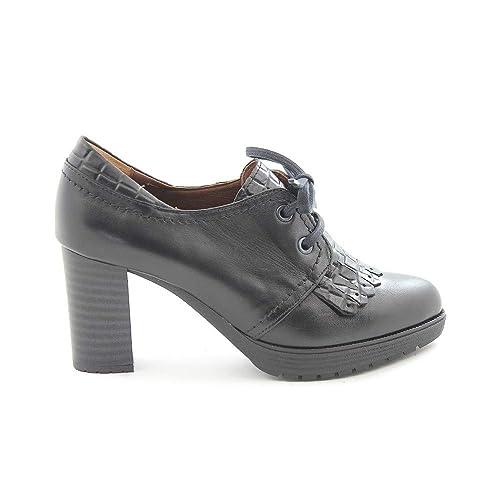 Botín tacón Medio Pitillos 5305 Negro - Pitillos: Amazon.es: Zapatos y complementos