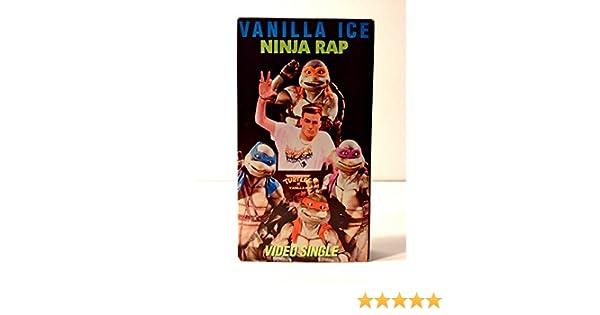 Amazon.com: Ninja Rap [VHS]: Vanilla Ice: Movies & TV