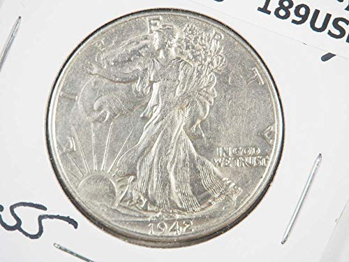 1942 P Walking Liberty Half Dollar Half Dollars Ungraded (Grading Walking Liberty Half Dollars)