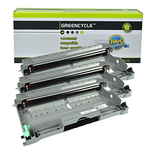 - GREENCYCLE 3 PK Replacement for Brother Black Compatible Drum Unit DR350 DR-350 for use in DCP-7010 DCP-7020 DCP-7025 HL-2030 HL-2040 Intellifax 2820 2850 2920 & MFC-7220 MFC-7420 MFC-7820D Printers