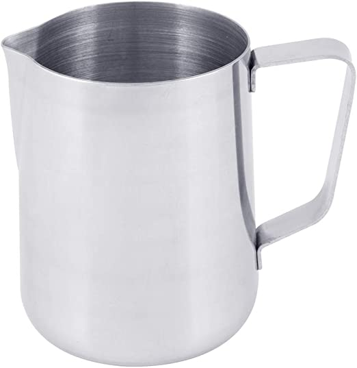 Ounce Steaming Frothing Pitcher Espresso Coffee Milk Frothing Pitcher Stainless Steel Set of 3 New Large 66 oz. 18//10 Gauge