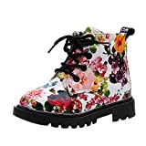 Newborn Girls Boys Shoes HEHEM Girls Fashion Floral Kids Shoes Baby Martin Boots Casual Children Boots Walking Shoes Infant Shoes Toddler Boys Infant Boots Baby