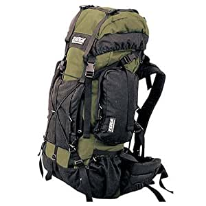TAIGA International® Traverse Travel & Hiking Back Pack Backpack, Olive, Medium