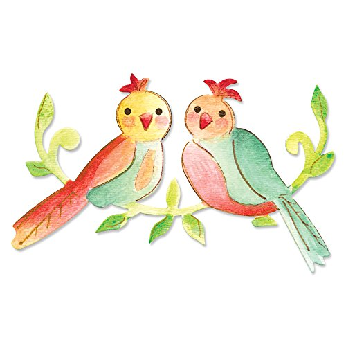 Love Birds Applique (Sizzix Bigz Die - Love Birds by Dena Designs)