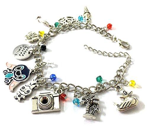 Stitch Lilo Charm Bracelet - Bracelets Jewelry Merchandise Gifts Collection Women Girls