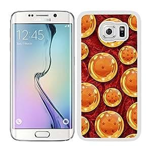 Funda carcasa para Samsung Galaxy S6 Edge Plus diseño bola de dragón borde blanco