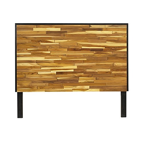 Padma's Plantation Reclaimed Wood Headboard, King (Plantation Teak Frame)