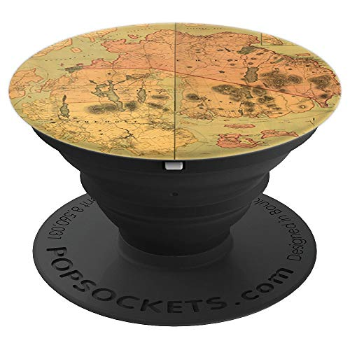 - Antique Map Mount Desert Island Acadia National Park Maine - PopSockets Grip and Stand for Phones and Tablets