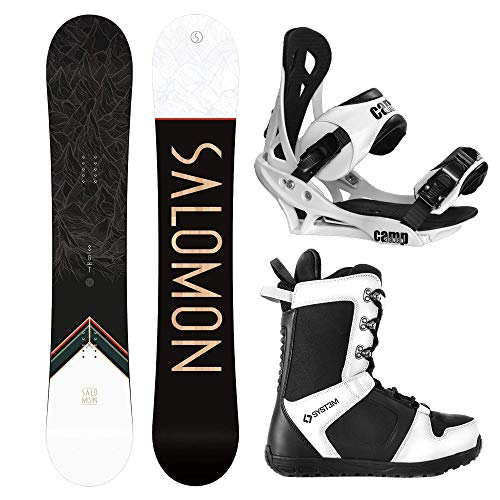 System and Salomon Sight Complete Snowboard Package 2021
