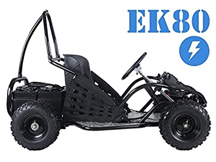 SmartDealsNow Tao Tao EK80 Kids Electric Go-carts (Black)