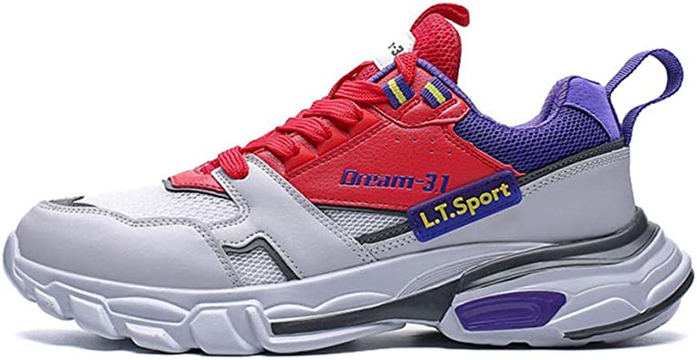 LMGSX Chaussure Running Homme, Chaussures De Course Quatre