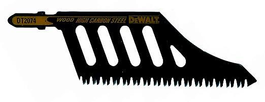2 opinioni per DeWALT DT2074- jigsaw, scroll saw & sabre saw blades (High Carbon Steel (HCS),